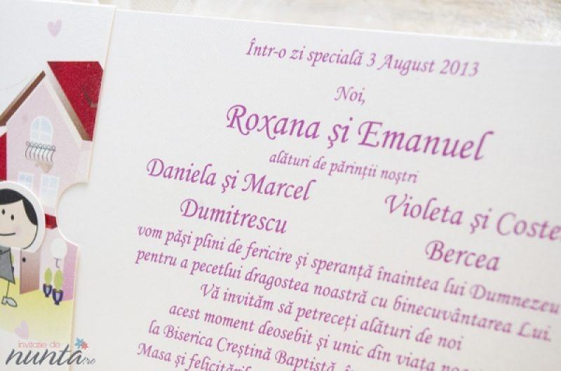 Invitatie Alba Haioasa Cu Cina Romantica Invitatii De Nunta