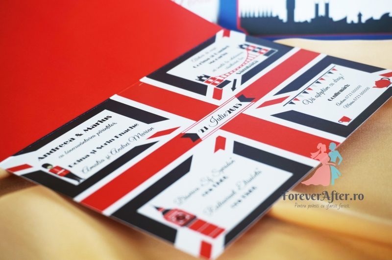 Invitatie De Nunta London Trip Invitatii De Nunta Moderne