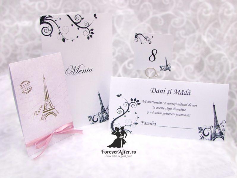 Invitatie De Nunta Paris Invitatii De Nunta Handmade