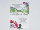 Invitatie de nunta Anemone