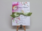 Invitatie de nunta Flower Warm