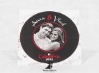 Invitatie de nunta Old Vinyl