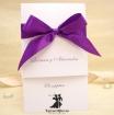 Invitatie de nunta Royal Purple