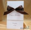 Invitatie de nunta Royal Chocolate
