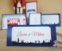 Place card Ticket to London