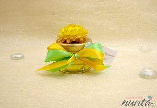 Borcanas de miere cu floare naturala uscata