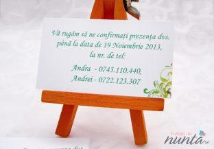 Card de confirmare Fairy Garden