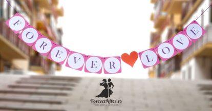 Ghirlanda Forever Love cu inima