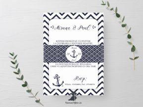 Invitatie de nunta Anchor Love