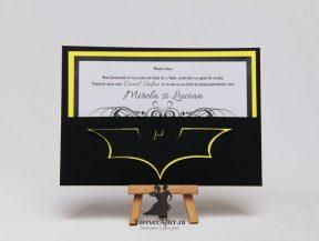 Invitatie de nunta Batman