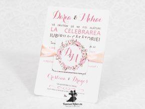 Invitatie de nunta Romantic Flowers