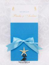 Invitatie de nunta Del Mar
