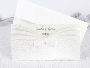 Invitatie de nunta Delicate