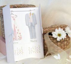 Invitatie de nunta dressing