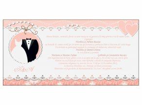 Invitatie de nunta Ea si El