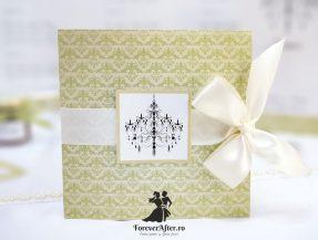 Invitatie de nunta Elegant Chandelier