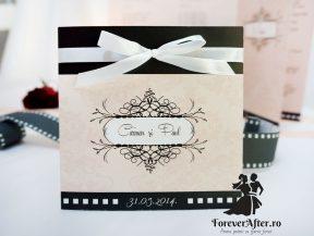 Invitatie de nunta Hollywood