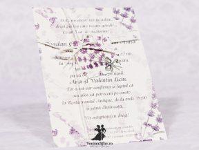 Invitatie de nunta Lavender Scent