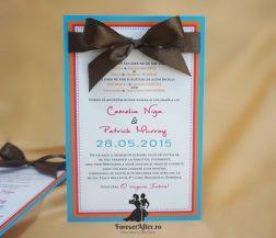 Invitatie de nunta Love Colors