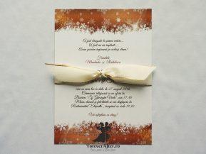 Invitatie de nunta Magia iernii