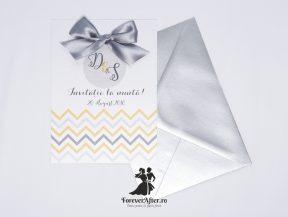 Invitatie de nunta Silver Touch