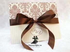 Invitatie de nunta Soft Damask