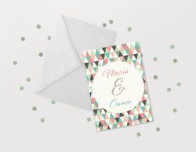 Invitatii nunta ieftine IDN018