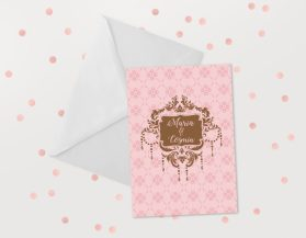 Invitatii nunta ieftine IDN019