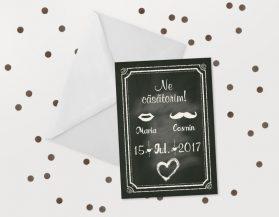 Invitatii nunta ieftine IDN021