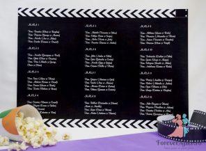 Lista cu asezarea invitatilor la mese Cinema