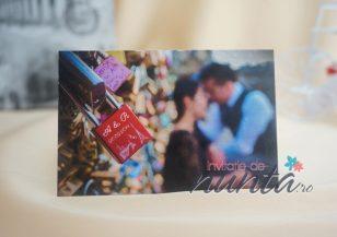 Marturie magnetica personalizata Love Lock