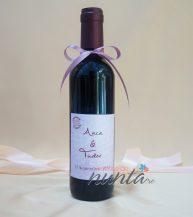 Marturie sticla de vin Paris 375 ml