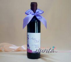 Marturie sticla de vin Tour Eiffel 375 ml