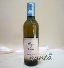 Marturie sticla de vin Vintage Script 375 ml