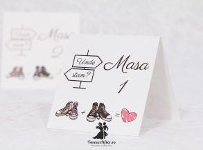 Numar de masa Love Sketches