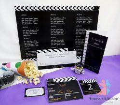 Pachet nunta Cinema pentru 10 familii