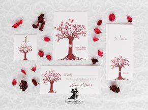 Pachet de nunta copacel cu amprente
