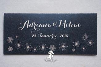 Place card Winter Wonderland