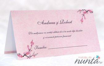 Plic de bani cu flori de cires Cherry Blossom