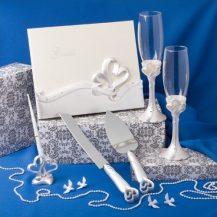 Set de nunta cu tematica inimi