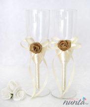 Set pahare miri Vintage Rose