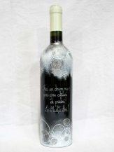Sticla de vin personalizata Ice