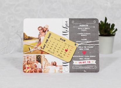 Colectia Invitatii De Nunta Cu Poza Mirilor Foreverafterro