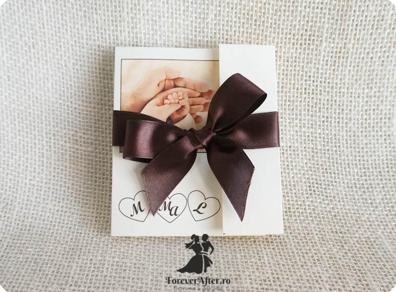 Invitatie 2 In 1 Pentru Nunta Si Botez Cu Poza Invitatii De Nunta