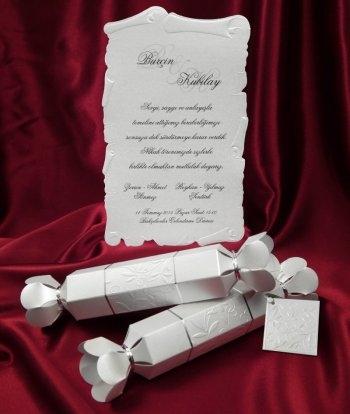Invitatie Eleganta Tip Pergament Invitatii De Nunta Pergament
